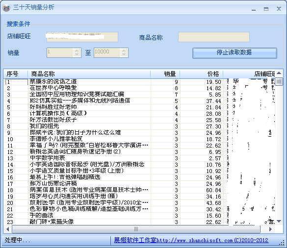展翅店铺数据分析软件